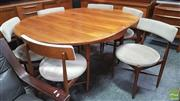 Sale 8395 - Lot 1070 - G Plan Teak Table and set of 6 chairs