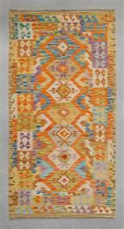 Sale 8493C - Lot 44 - Persian Kilim 200cm x 103cm