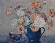 Sale 8738A - Lot 5046 - Nellie MacMullen - Still Life, c1930 27 x 35cm