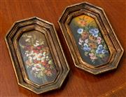 Sale 8882H - Lot 49 - ARTIST UNKNOWN, ITALIAN - Bunches of Flowers indistinctly signed Kitta