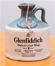Sale 8891H - Lot 99 - A ceramic flagon of Glenfiddich 75cL