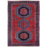 Sale 8971C - Lot 12 - Antique Caucasian Karabagh, Circa 1940, 130x200cm, Handspun Wool