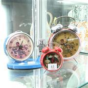 Sale 8304 - Lot 41 - Chairman Mao Alarm Clocks (3)