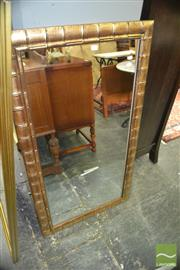 Sale 8383 - Lot 1299 - Bamboo Style Mirror (121 x 66cm)