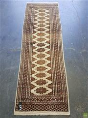 Sale 8589 - Lot 1053 - Pakistani Turkoman Runner (244 x 79cm)
