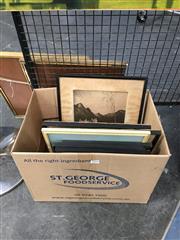 Sale 8752 - Lot 2058 - Various Vintage Framed Prints & Pictures incl 4 Scottish Castles by Warner & Aubrey Beardsley Prints