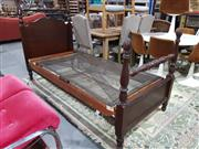 Sale 8760 - Lot 1085 - Vintage Mahogany Single Bed