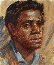 Sale 8947 - Lot 502 - Dora Toovey (1898 - 1986) - Bennelong 32 x 24 cm (frame: 51 x 46 x 4 cm)