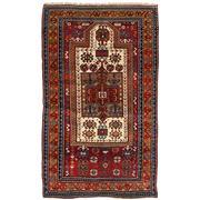 Sale 8971C - Lot 13 - Antique Caucasian Fachralo Rug, Prayer Rug Design, Circa 1940, 115x195cm, Handspun Wool