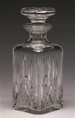 Sale 9138 - Lot 21 - Stuart Crystal Decanter (H:23cm)
