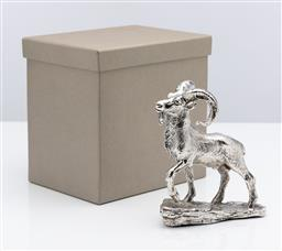 Sale 9255H - Lot 29 - A Christofle silver-plated Aries ram, 2016, Height 14cm x Length 11.5cm, boxed. RRP $800