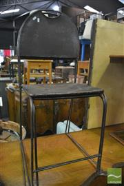 Sale 8386 - Lot 1086 - Set of 4 Metal Chairs