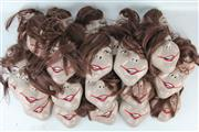 Sale 8403 - Lot 35 - Ceramic Masks with Hair Pieces (19)