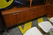 Sale 8528 - Lot 1081 - Nathan Teak Sideboard