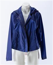 Sale 8910F - Lot 61 - A See by Chloe royal blue rain jacket, as new with tags, size 10
