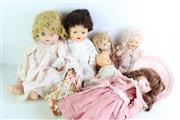 Sale 8852 - Lot 49 - Collection Of Various Vintage And Other Dolls