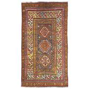 Sale 9020C - Lot 36 - Antique Caucasian Kazak Rug, Circa 1940, 140x245cm, Handspun Wool
