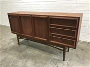 Sale 9056 - Lot 1016A - Chiswell Elevated 3 Door 3 Drawer Sideboard (h:90 x w:167 x d:47cm)