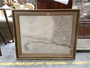 Sale 9091 - Lot 2057 - Engraved Map of Paris