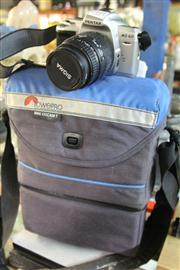 Sale 8381B - Lot 85 - Pentax Camera (MZ-60) with Sigma Lens & Case