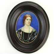 Sale 8387 - Lot 87 - Miniature Portrait of a Lady