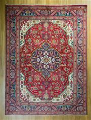 Sale 8717C - Lot 4 - Persian Tabriz 340cm x 250cm