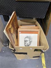 Sale 8927 - Lot 2090 - Box of Prints incl Truganini