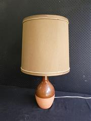 Sale 9002 - Lot 1077 - Ceramic Glazed Studio Table Lamp (h:71cm)
