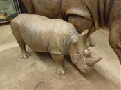 Sale 7905A - Lot 1694 - Juvenile Rhinoceros, Museum Replica