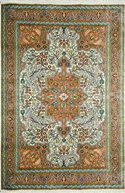 Sale 8338C - Lot 54 - Kashmiri Silk 182cm x 125cm