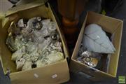 Sale 8518 - Lot 2341 - 2 Boxes of Glassware