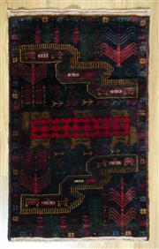 Sale 8693C - Lot 43 - Persian Baluchi 120cm x 76cm