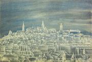 Sale 8764A - Lot 5063 - Imre Szigeti (1897 - 1975) - Budapest, Hungry 38 x 56cm