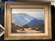 Sale 8789 - Lot 2067 - Graham Gercken - Afternoon Light, oil SLL, 44.5x60cm