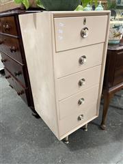 Sale 8912 - Lot 1056 - Vintage Drawer Unit (H: 103.5 W: 47 D: 47cm)