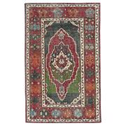 Sale 9020C - Lot 38 - India Revival Vintage Rug, 150x240cm, Handspun Wool