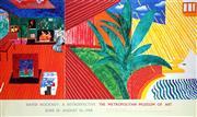Sale 8492A - Lot 5071 - David Hockney (1937 - ) - Hollywood Hills House, 1980 (David Hockney: A Retrospective, The Metropolitan Museum of Art June 18 - Augu...