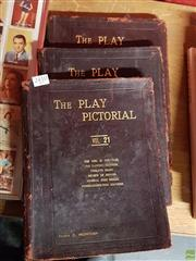 Sale 8582 - Lot 2410 - 3 Volumes The Play Pictorial Nos. 21, 22, 23