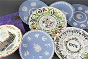 Sale 8604W - Lot 29 - Variety Of Wedgwood Plates (8)