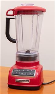 Sale 8891H - Lot 61 - A KitchenAid red blender