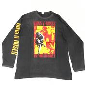 Sale 8893M - Lot 4 - Guns n Roses Use Your Illusion I + II 1992 Tour Long Sleeve Shirt, Size XL