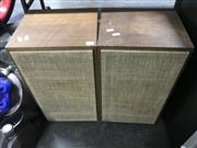 Sale 8953 - Lot 2095 - Pair of Vintage Bookshelf Speakers