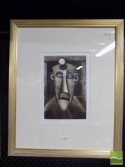 Sale 8407T - Lot 2054 - Kevin Charles (Pro) Hart (1928 - 2006) - The Miner 29 x 19.5cm