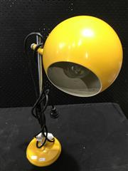 Sale 9022 - Lot 1065 - Oslo Ball Form Table Lamp in Yellow (h:53cm)