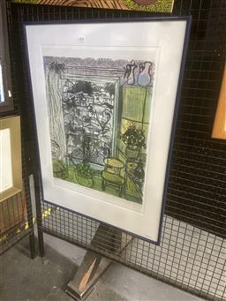 Sale 9101 - Lot 2034 - Barbara Davidson - Room With a View II, 1985 56 x 42 cm (frame: 77 x 58 x 3 cm)
