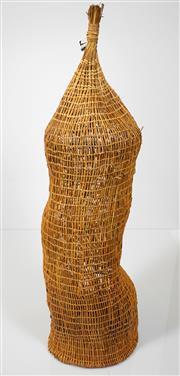 Sale 8420 - Lot 598 - Marlene Yalandj (XX) - Fish Trap h. 118, d.35cm