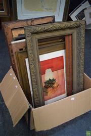 Sale 8592 - Lot 2029 - Collection of Frames & Framed Decorative Prints