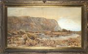 Sale 8759 - Lot 2006 - Jenny Wimperis (1838 - 1927) - Untitled, 1888 (Landscape) 68 x 126cm