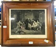Sale 8941 - Lot 2093 - C19th Engraving Depicting The Blind Fiddler, 19x24cm