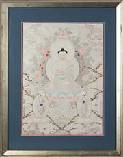 Sale 8767 - Lot 2043 - South East Asian School - Buddha 48 x 35cm
